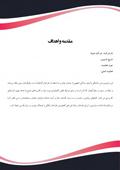 قالب رزومه شرکت یا تجاری طرح گرافیکی کد 113